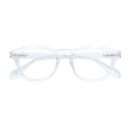 Reading glasses in transparant +1