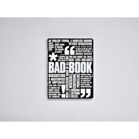 Bad book 165 x 220mm 256 numbered pages