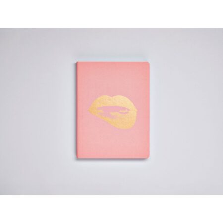 Glossy lips 165 x 220mm 256 numbered pages