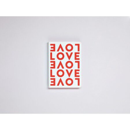 Love 108 x 150mm 176 numbered pages