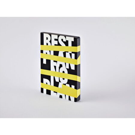 Best plan - no plan 165 x 220mm 256 numbered pages