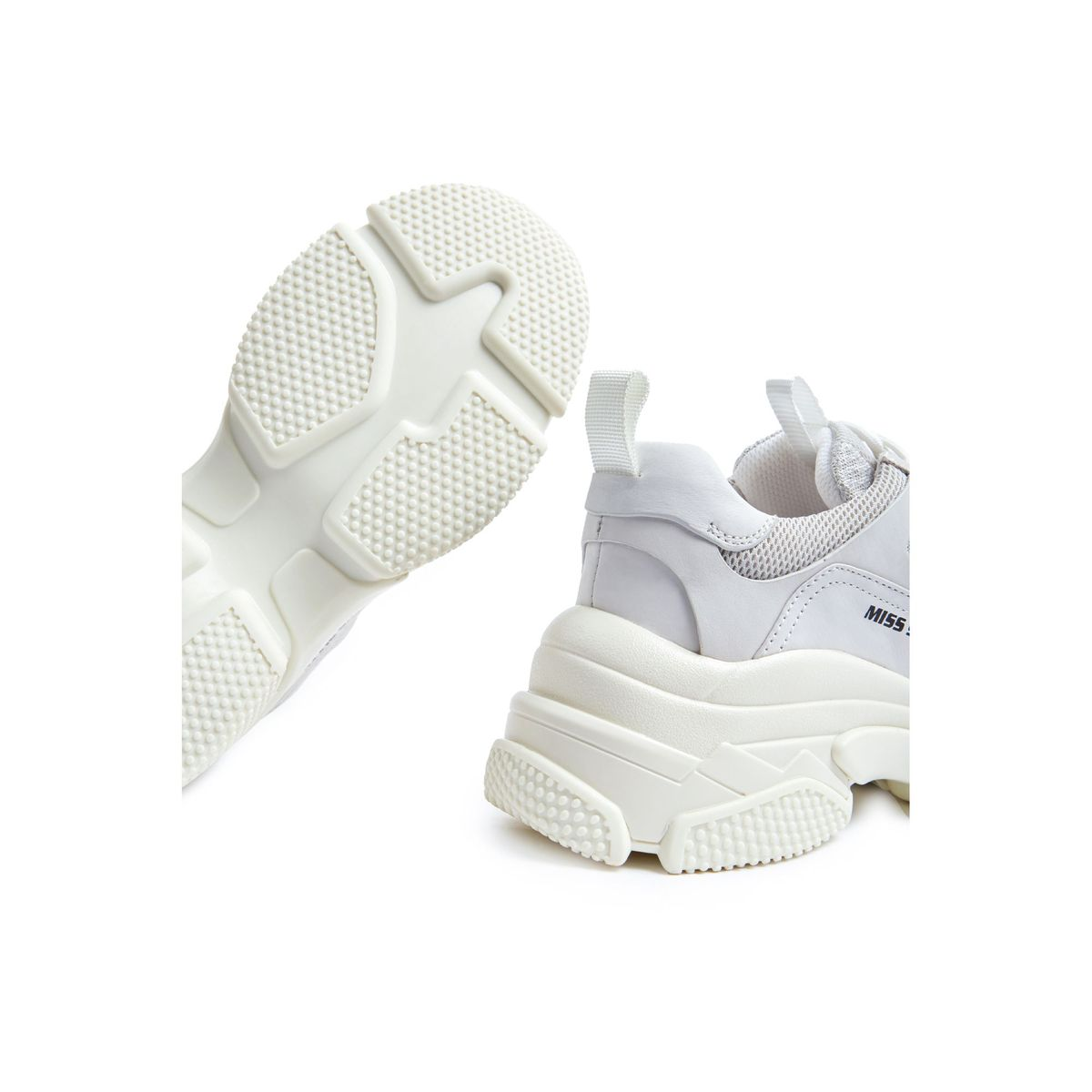 White sneakers with high sole 2803 Ave. Loft