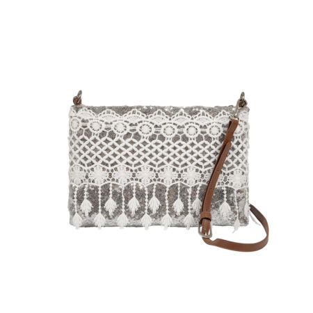 Crossbody sequined bag