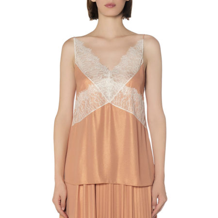 Camisole top with lace details