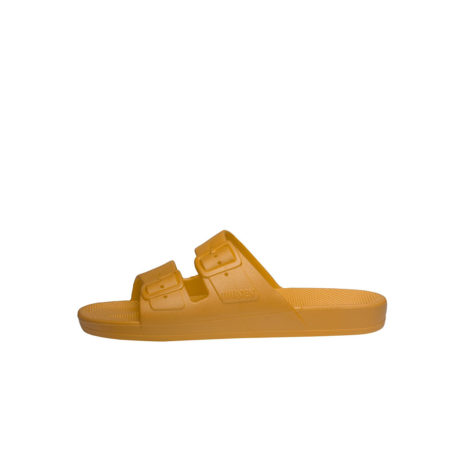 Mustard yellow women  slides