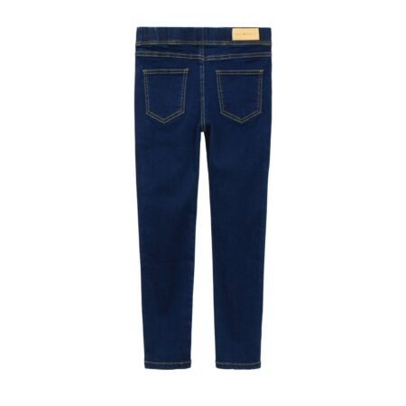Straight leg jean trousers