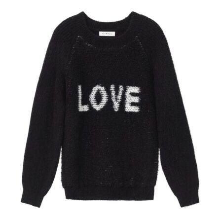 Sweater with LOVE print