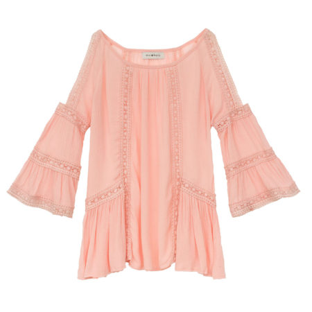 Longsleeve top with ruffles