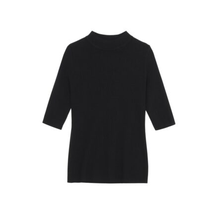 Wooven blouse with  3/4 sleeves