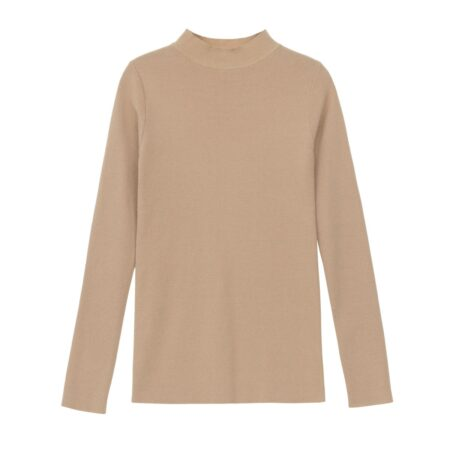 Long sleeve wooven blouse